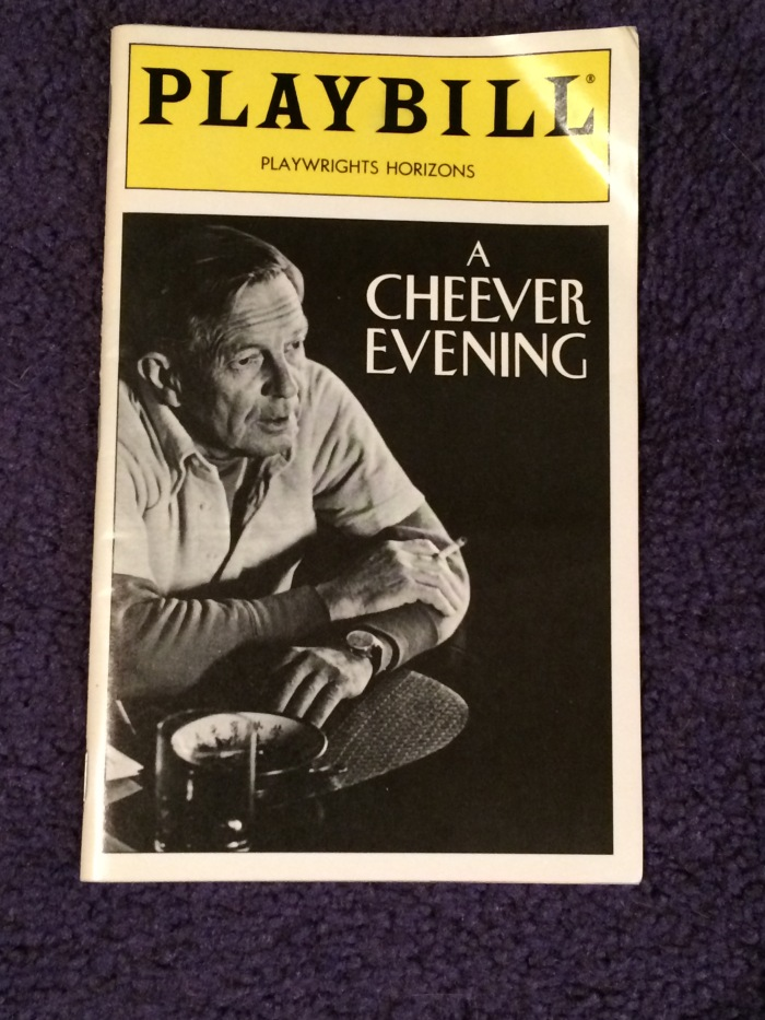 Cheever Playbill
