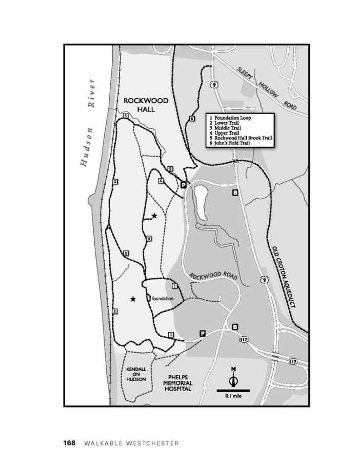 Rockwood hall trail map