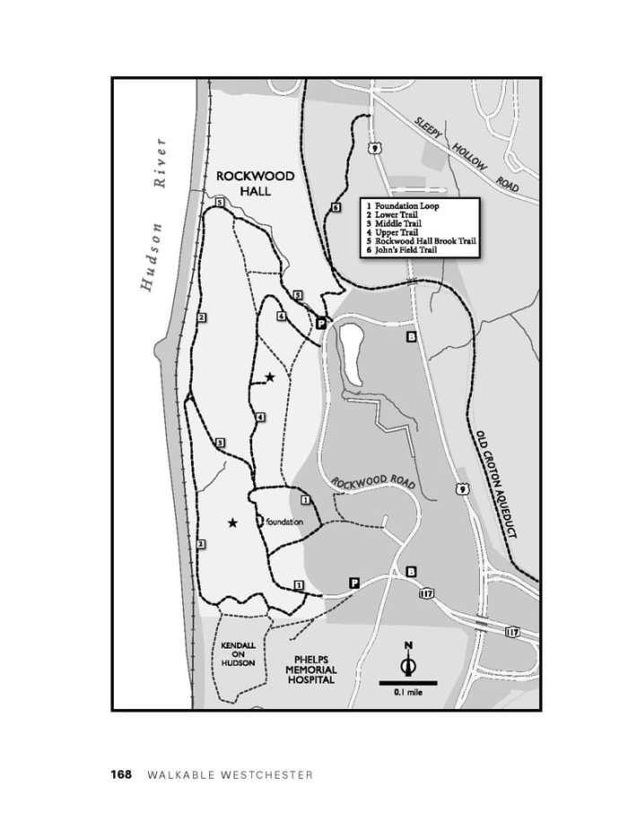 Rockwood hall trail map
