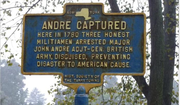 Maj. John Andre Capture here