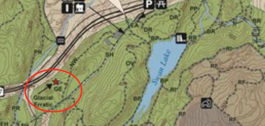 Rockies Trails to Erratic