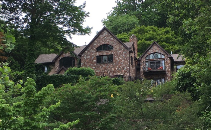 The Home of Berta and Elmer Hader, Nyack, New York
